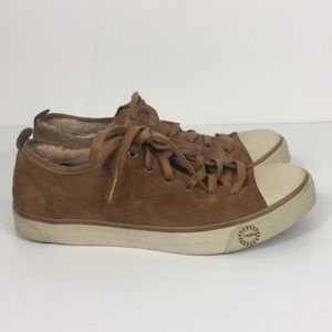UGG Chestnut Fur Lined Evera Fashion Sneakers